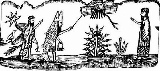 dagon+mesopotamian+sculpture+-+Anunnaki+-+tree+of+life+-+DNA+manipulation+-+Mitre+pope+hat.jpg
