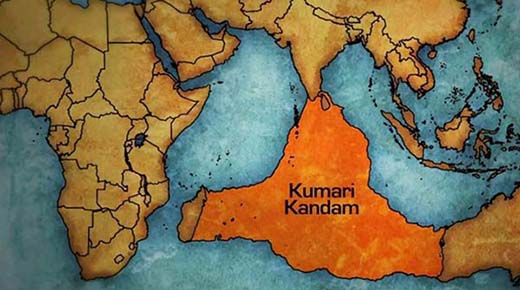 El Continente Perdido de Kumari Kandam