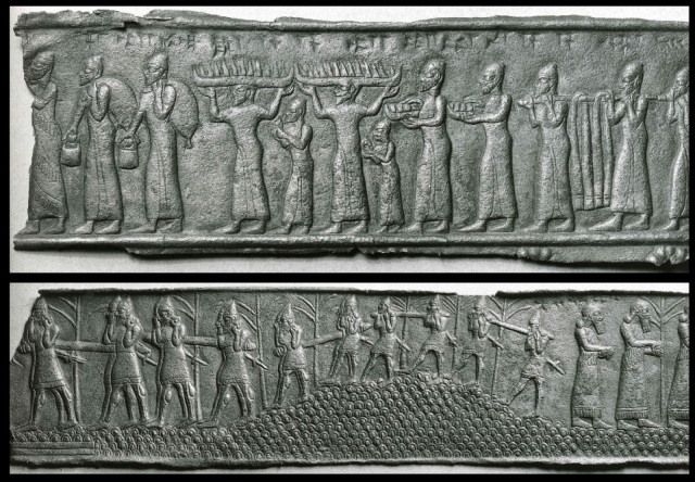 Assyrian_-_Fragments_of_Bands_from_a_Gate_-_Walters_542335_-_View_A.jpg