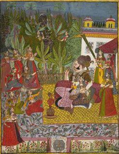 463px-8_Maharaja_Vijay_Singh_in_His_Harem._Jodhpur%252C_ca._1770_Metmuseum.jpg